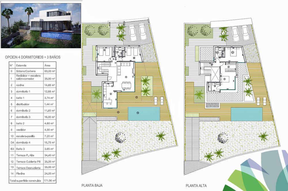 Villa Agata 4 Slaapkamers/3 Badkamers. Bewoonbare Oppervlakte 170 ... Terrassen Design Meer Bilder