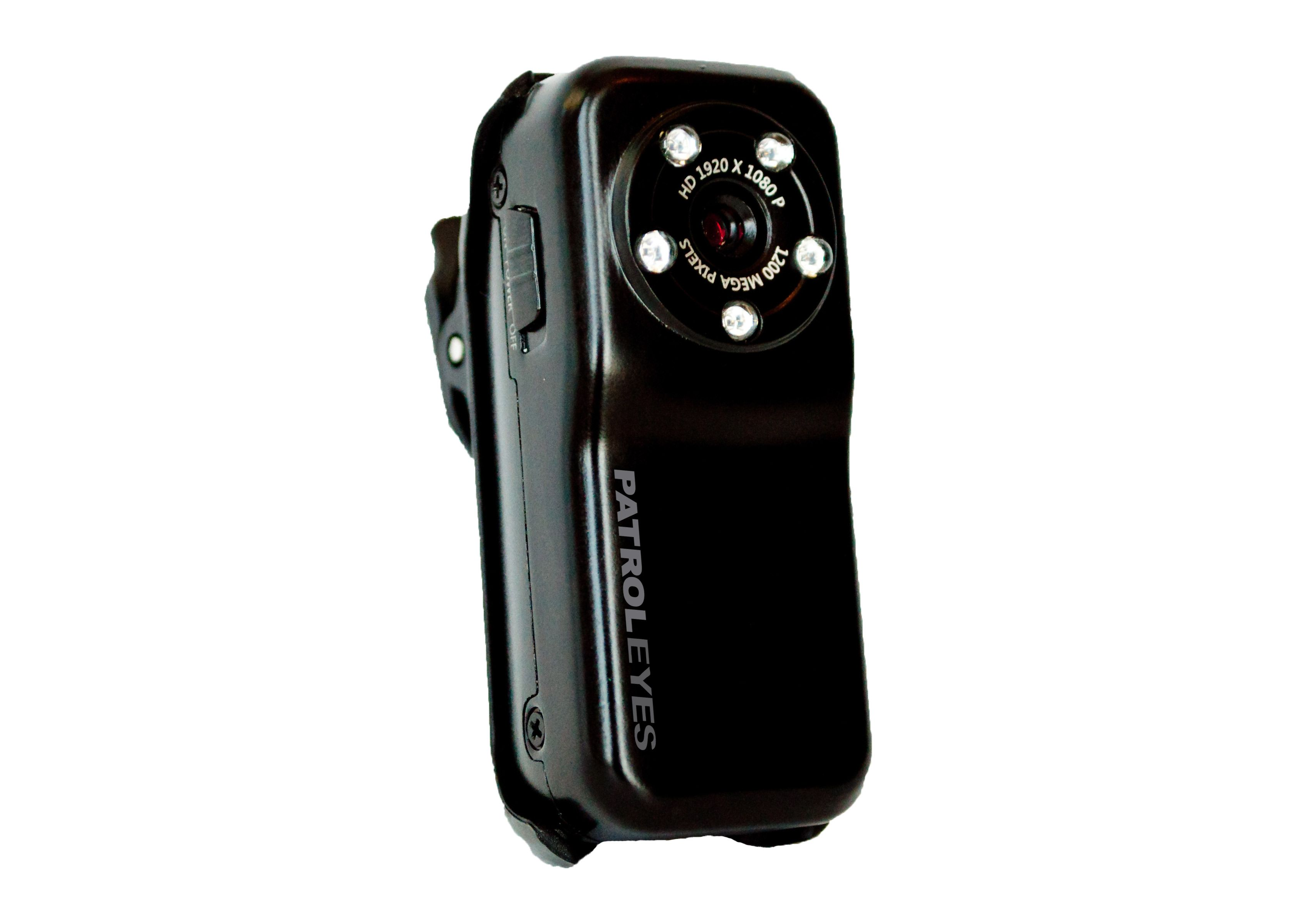 Pre-order Now! #PatrolEyes Mini #Infrared Body Camera This new PatrolEyes Mini Infrared #BodyCamera is as small as they get and records great audio and video! This camera offers full HD 1080p resolution video at 30fps! The SC-IRM is about the size of an AA battery and comes in a heavy duty metal alloy shell. Included are a host of accessories including removable pocket/vest alligator clip, strap, belt mount, dash mount, stand mount, and USB cable for charging. #police