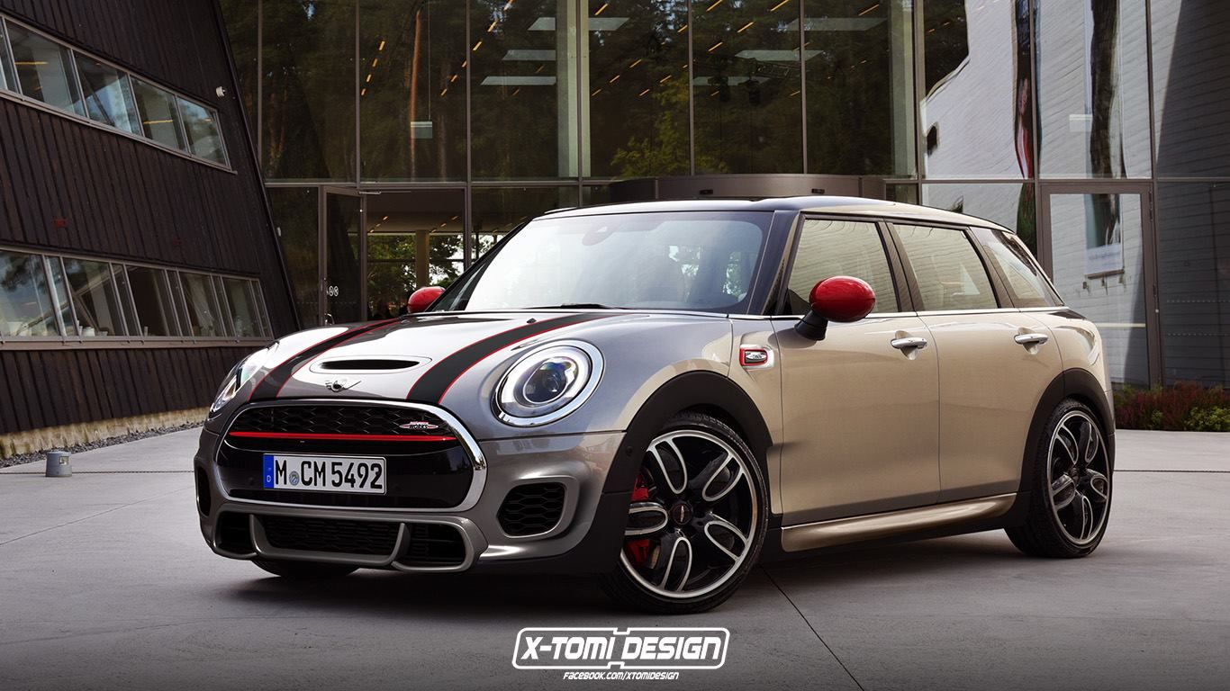 Mini John Cooper Works Clubman New Countryman