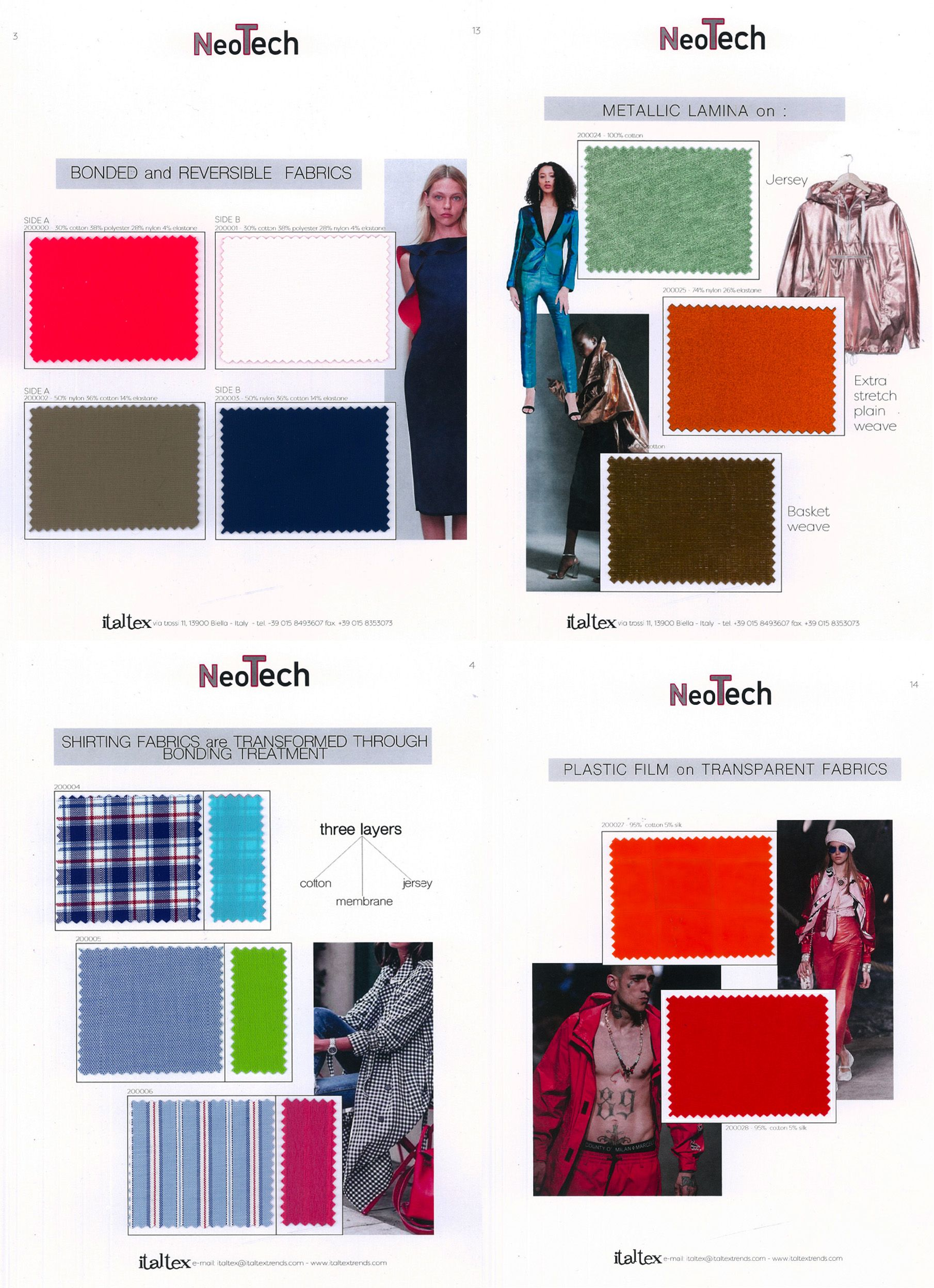 Spring Summer 2020 Fabric Trends.New Italtex Fabric Trend Book Neotech Spring Summer 2020 In