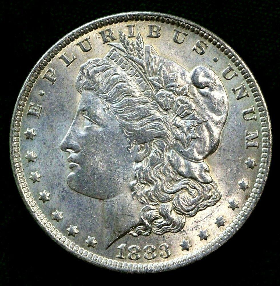 1883-O Morgan Silver Dollar Brilliant Uncirculated BU