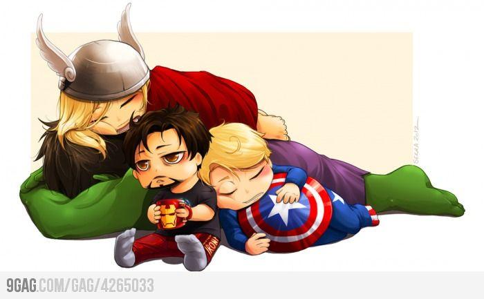 aww... the Avengers