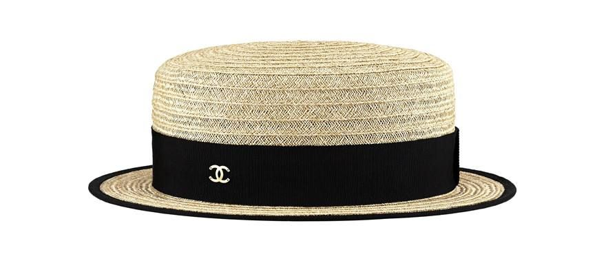 295605aef7f Chanel straw hat. | Fashion | Fashion, Outfits with hats, Summer hats