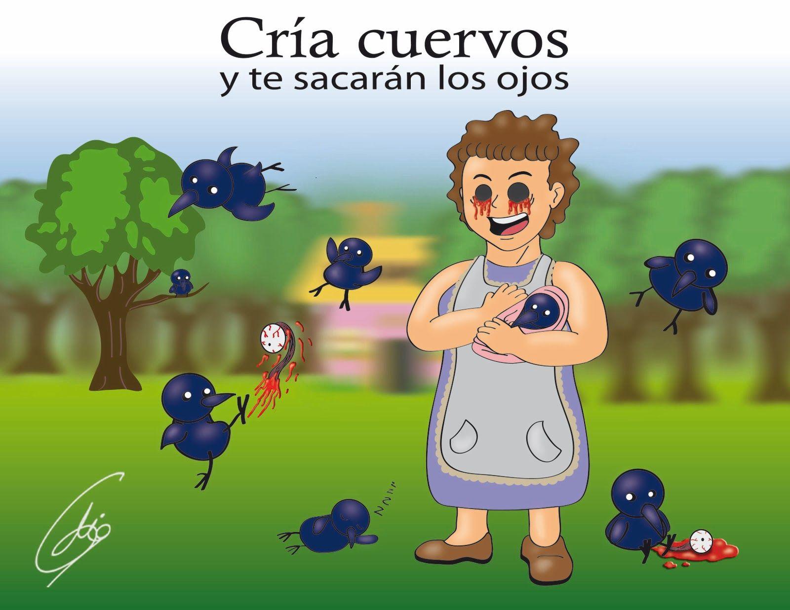 Cría Cuervos Y Frases De Ojos Cria Cuervos Cuervo