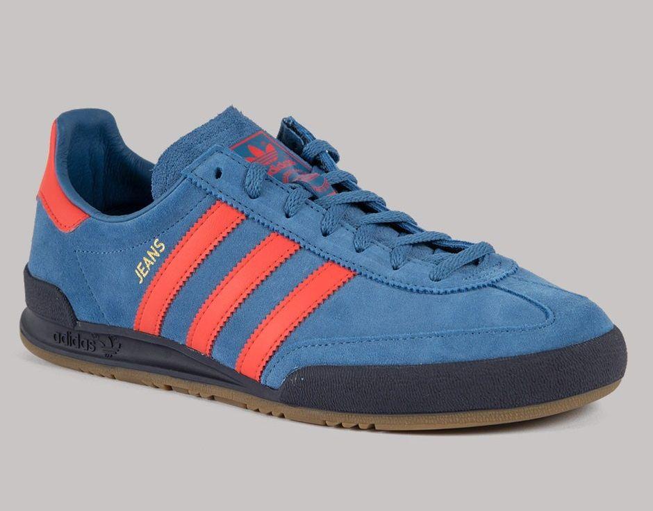 adidas jeans royal blue