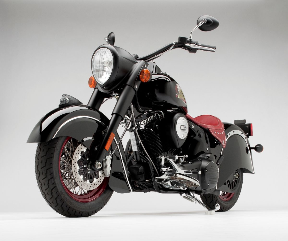 Black Chief Dark Horse powered by a Power Plus 105 inch motor and – Indian Chief Motorcycle Wiring Harness Diagram