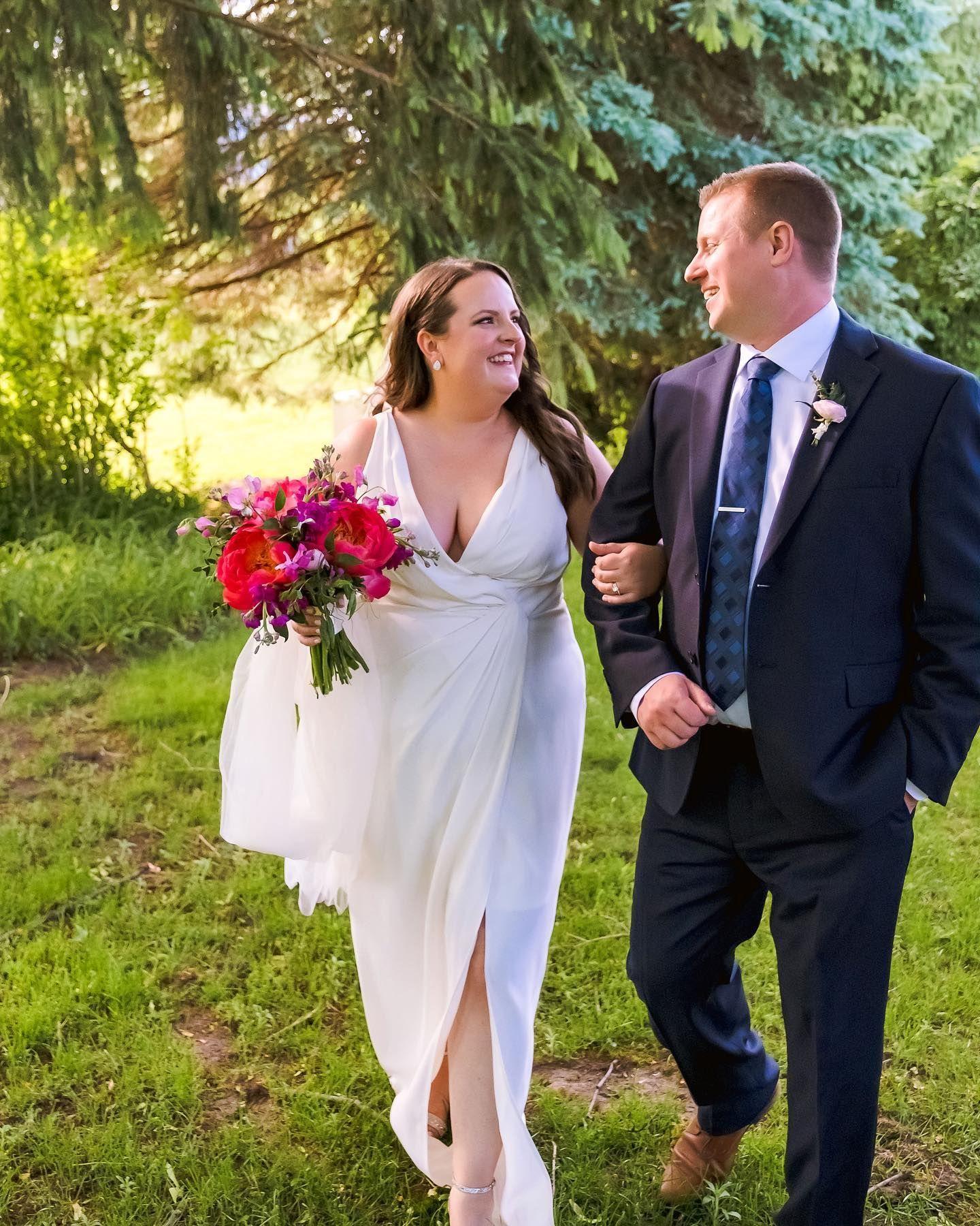 Congratulations Alyson + Michael Their wedding reception