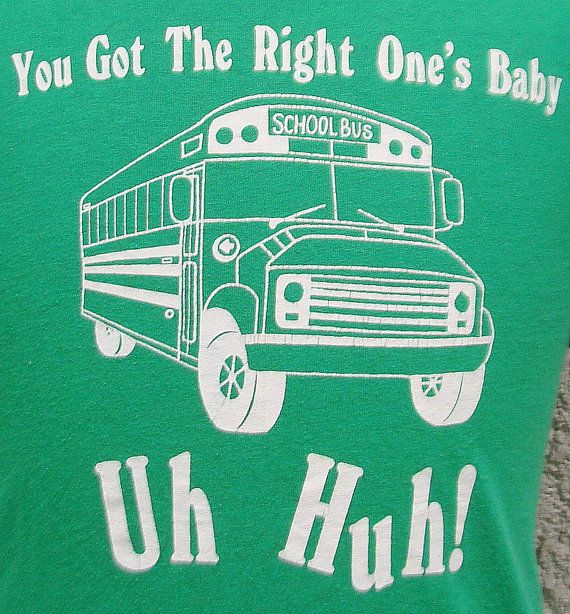 Vintage 80's You Got The Right One's Baby t shirt L