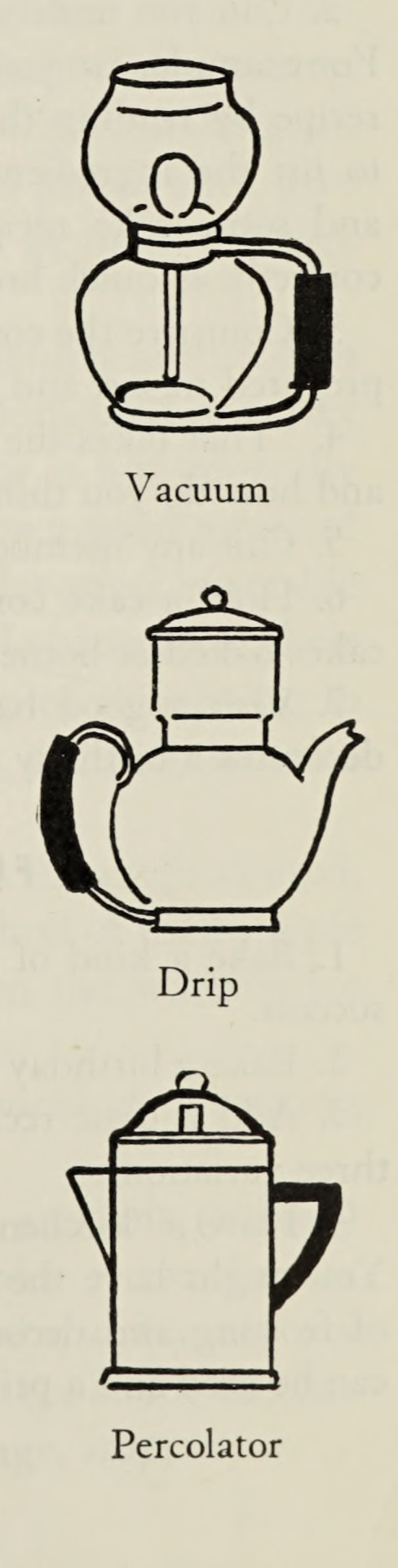 Coffee Pot Options Food For Better Living 1949 Internet Archive 1940 S 1949 Coffee Drip Economics Ho Coffee Pot Better Living Cottage Kitchen Design