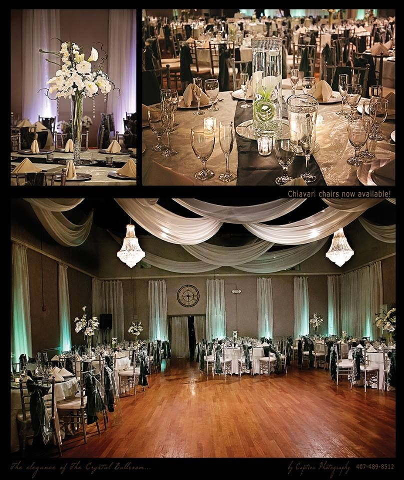 Gorgeous Reception The Crystal Ballroom Orlando Fl Florida Wedding