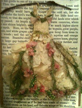 Fairy dress in cream