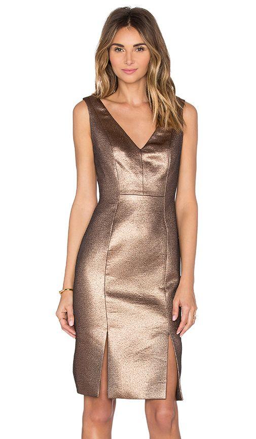 Copper Cocktail Dress Fashion Pinterest Wedding Guest Dresses
