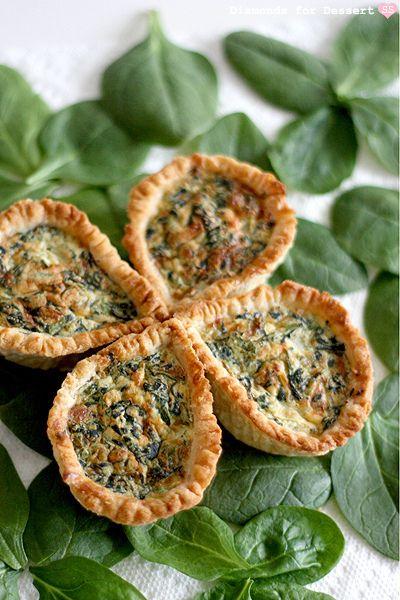 4 leaf clover quiche | Pinterest | Smitten kitchen,Timantit ja ...