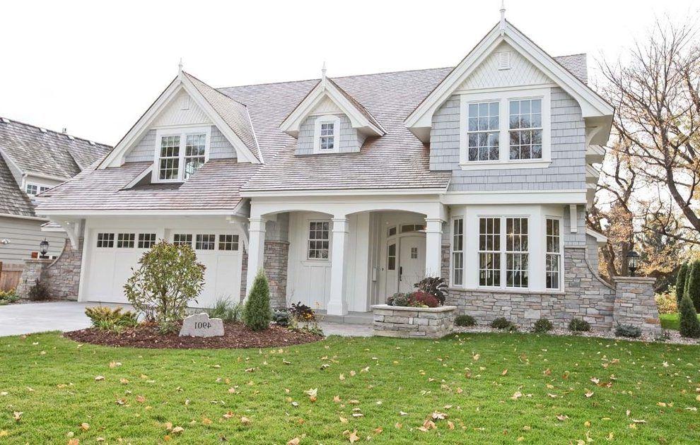 Traditional House Finishes Brick Exterior House White Brick Houses Grey Stone House