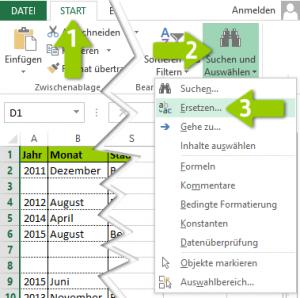 Excel Leerzeichen Entfernen