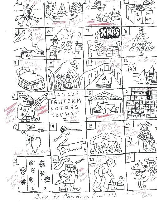 Guess The Christmas Carol Worksheet.Worksheets Guess The Christmas Carol Projects To Try