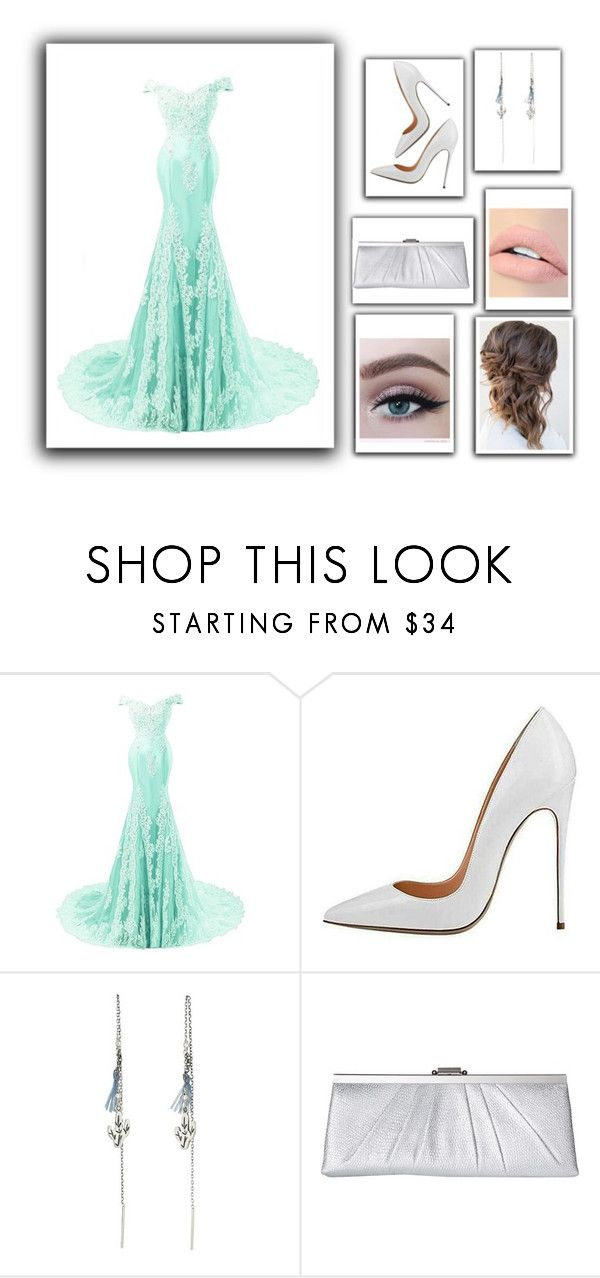 """""""Prom (206)"""" by here-is-amazing ❤ liked on Polyvore featuring Chan Luu, Jessica McClintock and Jouer"""