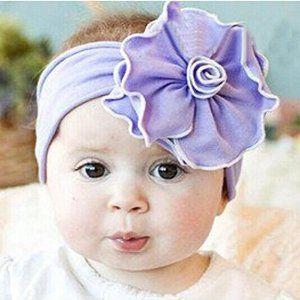 Amazon Com Orangesky Baby Flower Headband Girl Lace Infant Hair
