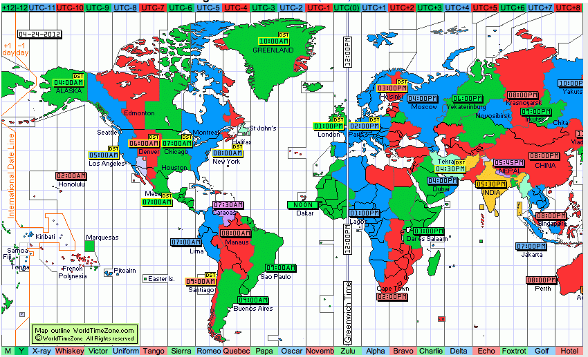 Horario Reloj Mundial Practico Y Directo World Clock For Travelers In 2020 Time Zone Map Teaching Time Tools For Teaching