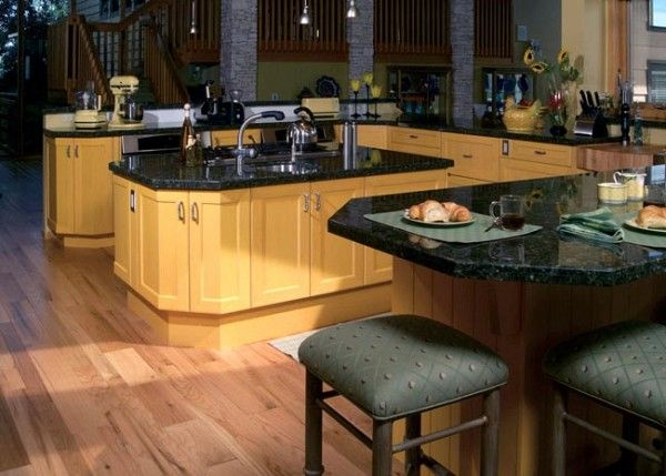 dark emerald green granite contemporary kitchen green granite countertops on kitchen ideas emerald green id=16771