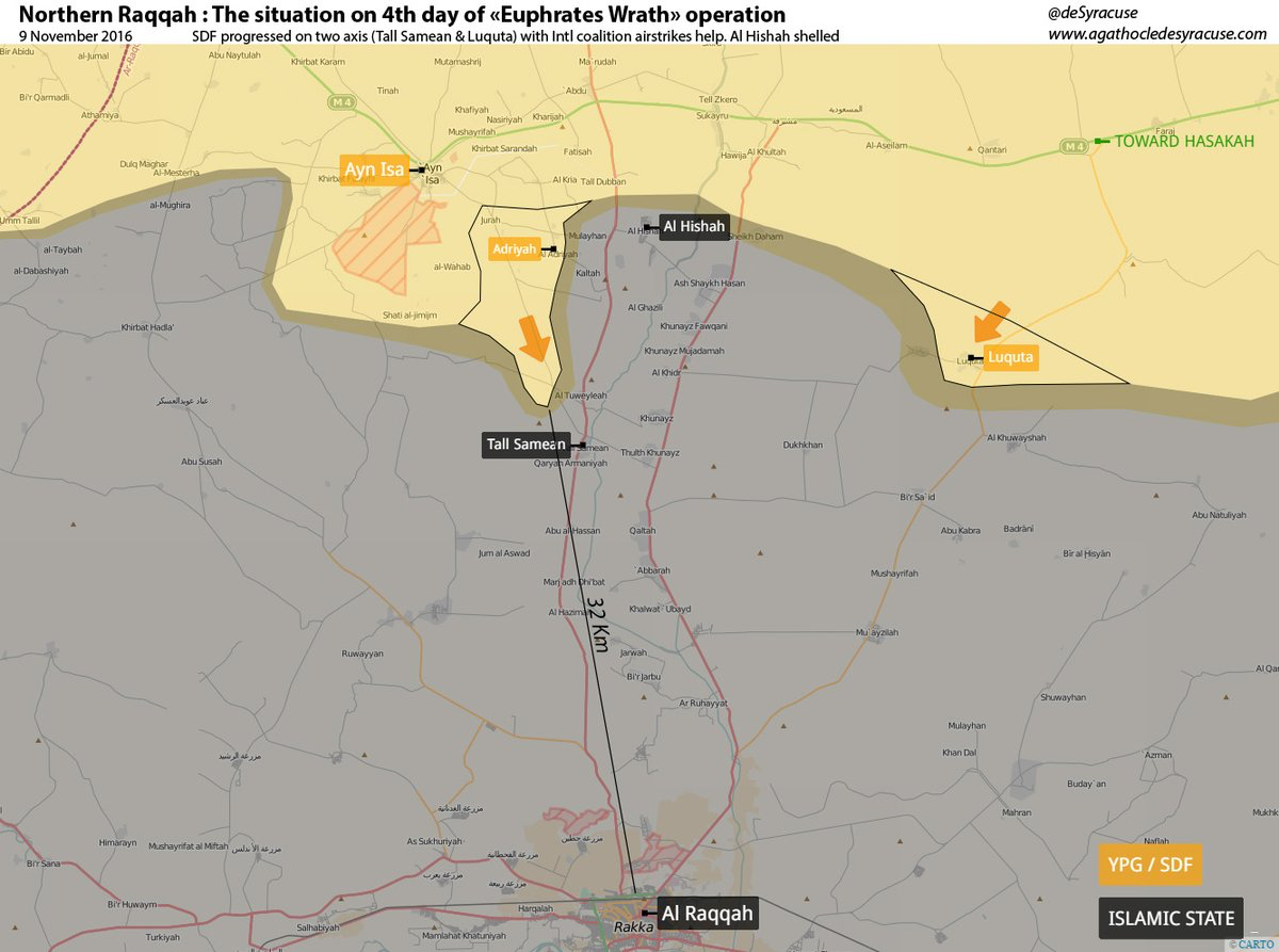 Raqqah The situation on 4th day