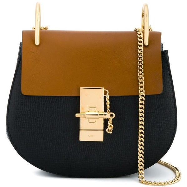 534156e8 Chloé 'Drew' shoulder bag found on Polyvore featuring bags, handbags ...