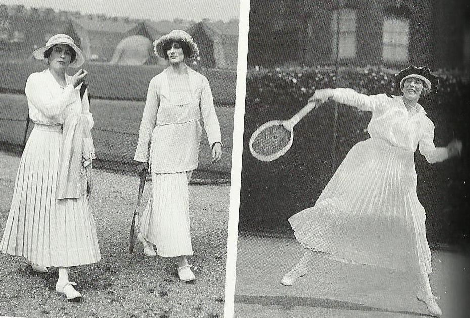 Tenue De Tennis D But Des Ann Es 20 Mode Ann Es 20 Pinterest Tennis 1920s And Sport Wear