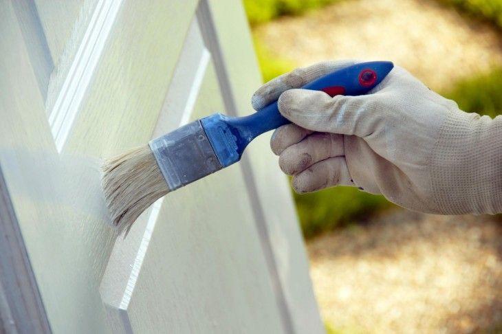 Paint a wooden door how best to do it in 3 carpets …