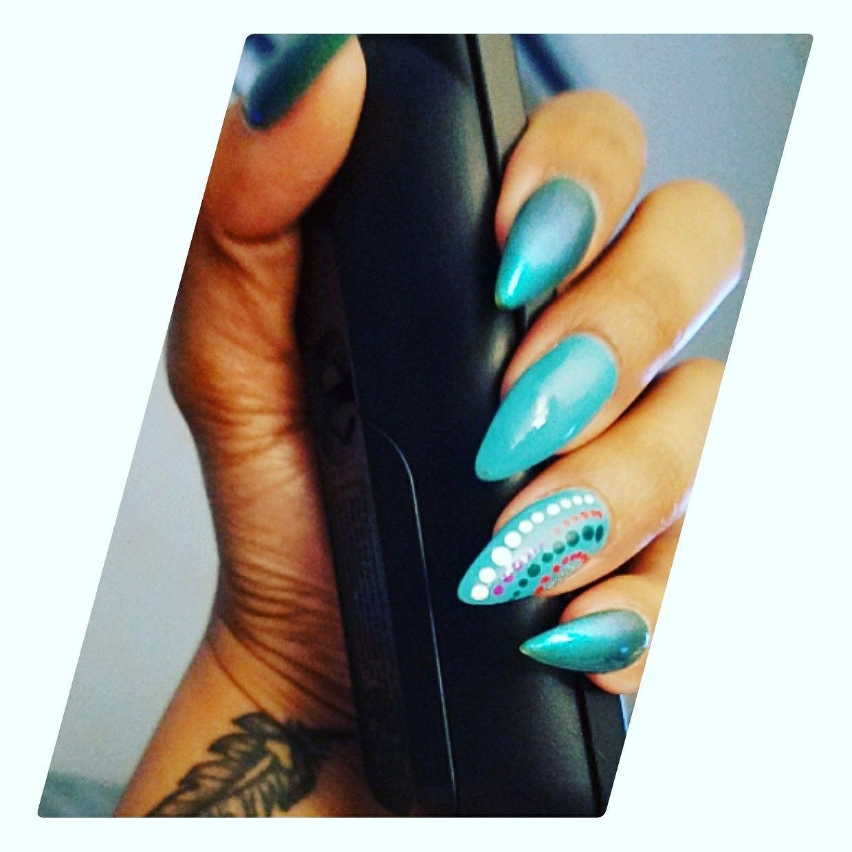 Pin By My Info On Mountainpeak Stiletto Nails Colors And Design