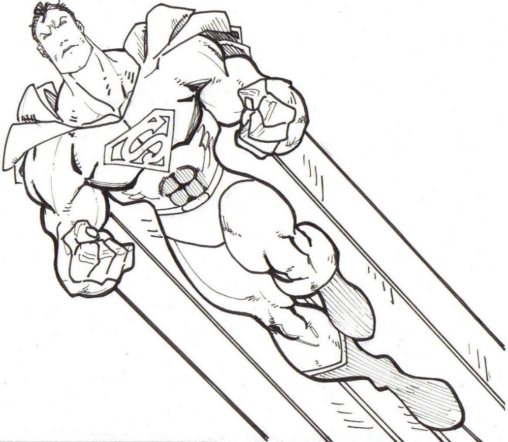 Free Printable Coloring Pages For Older Kids Superhero Coloring Coloring Pages Inspirational Superman Coloring Pages [ 870 x 1000 Pixel ]