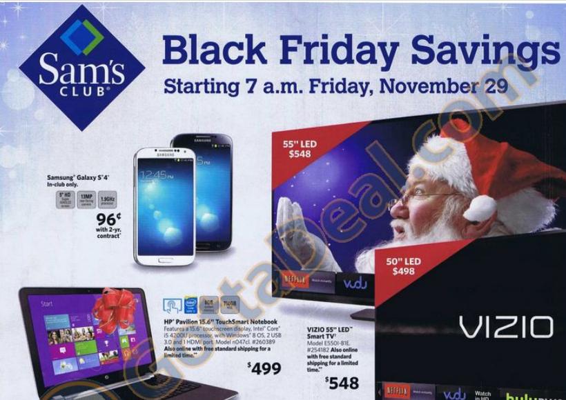 Sam S Club Black Friday Ad 2013 Black Friday Ads Black Friday Inspiration Black Friday