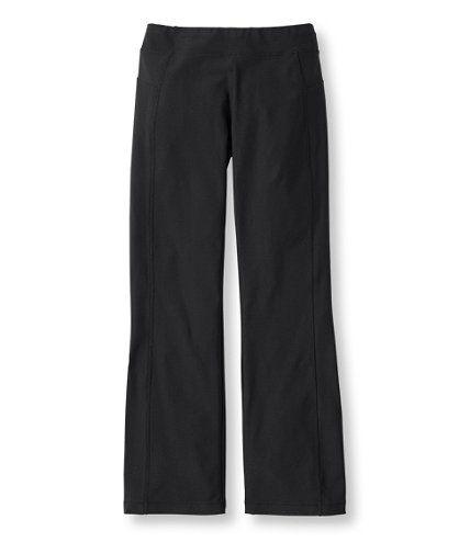 Fitness Boot-Cut Pants: Active | Free Shipping at L.L.Bean
