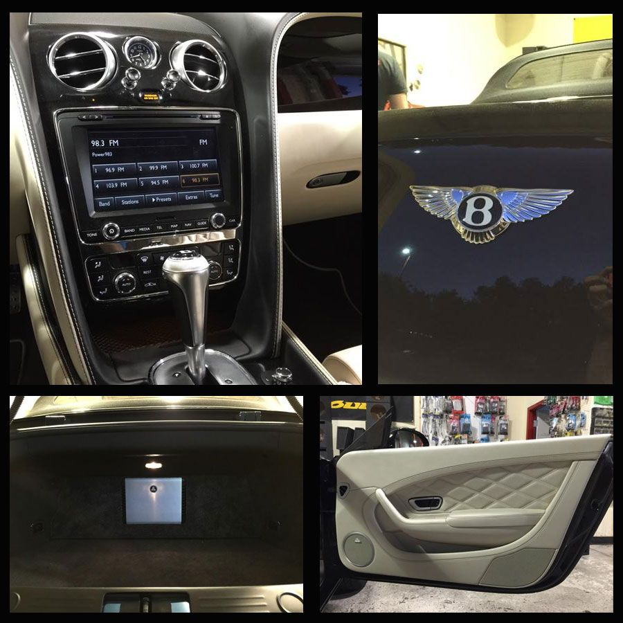 This 2014 Bentley Continental Gt Convertible Needed A Sound Audio Wiring Overhaul To As Good