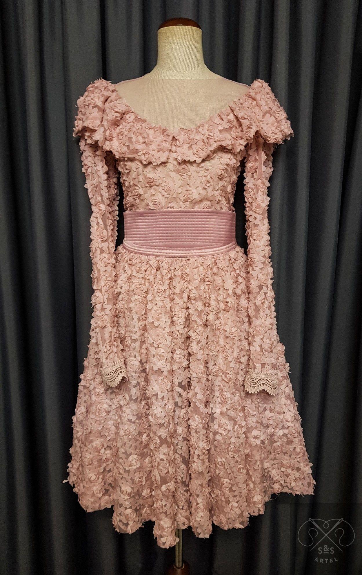 Elegant Pink Wedding Guest Dress Pink Wedding Guest Dresses Cotton Dress Summer Wedding Guest Skirt [ 1980 x 1249 Pixel ]