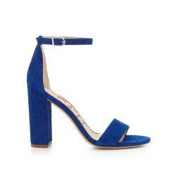 22b1640c968f Yaro Ankle Strap Sandal by Sam Edelman - Royal Blue Suede