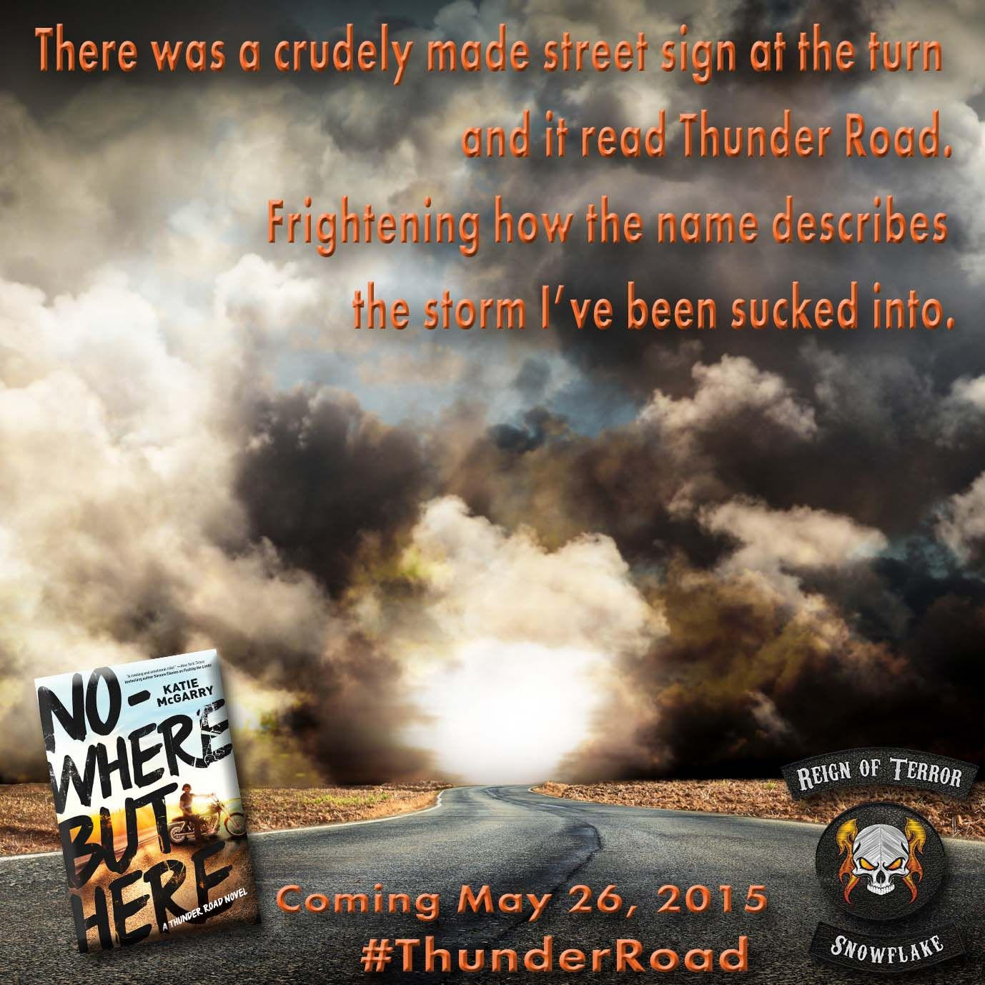 Nowhere But Here will be released on May 26, 2015!