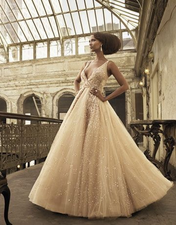 dream dress. Iman for Harper's Bazaar Dec. 2010