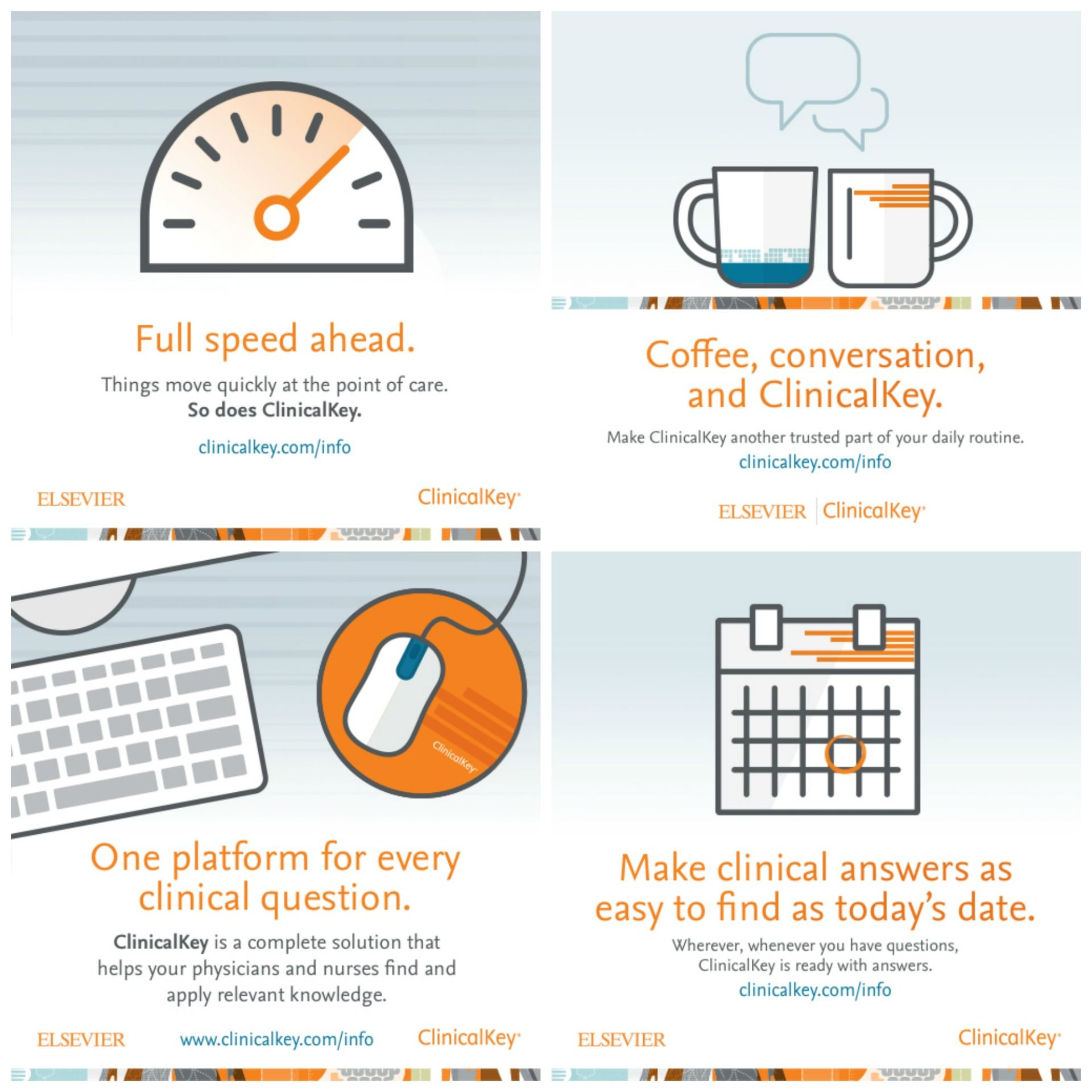 Healthcare Marketing Campaign for Elsevier ClinicalKey