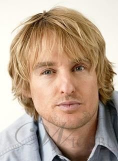 Men S Short Wavy Blonde Hair With Dark Roots 100 Human Hair Mono