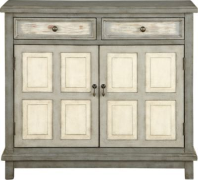 Keeley Gray Accent Cabinet