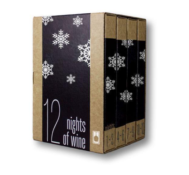 Einzelportion Wein Adventskalender Wein Adventskalender #wineadventcalendardiy s …