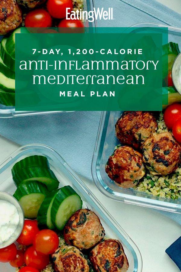 Anti-Inflammatory Mediterranean Diet Plan