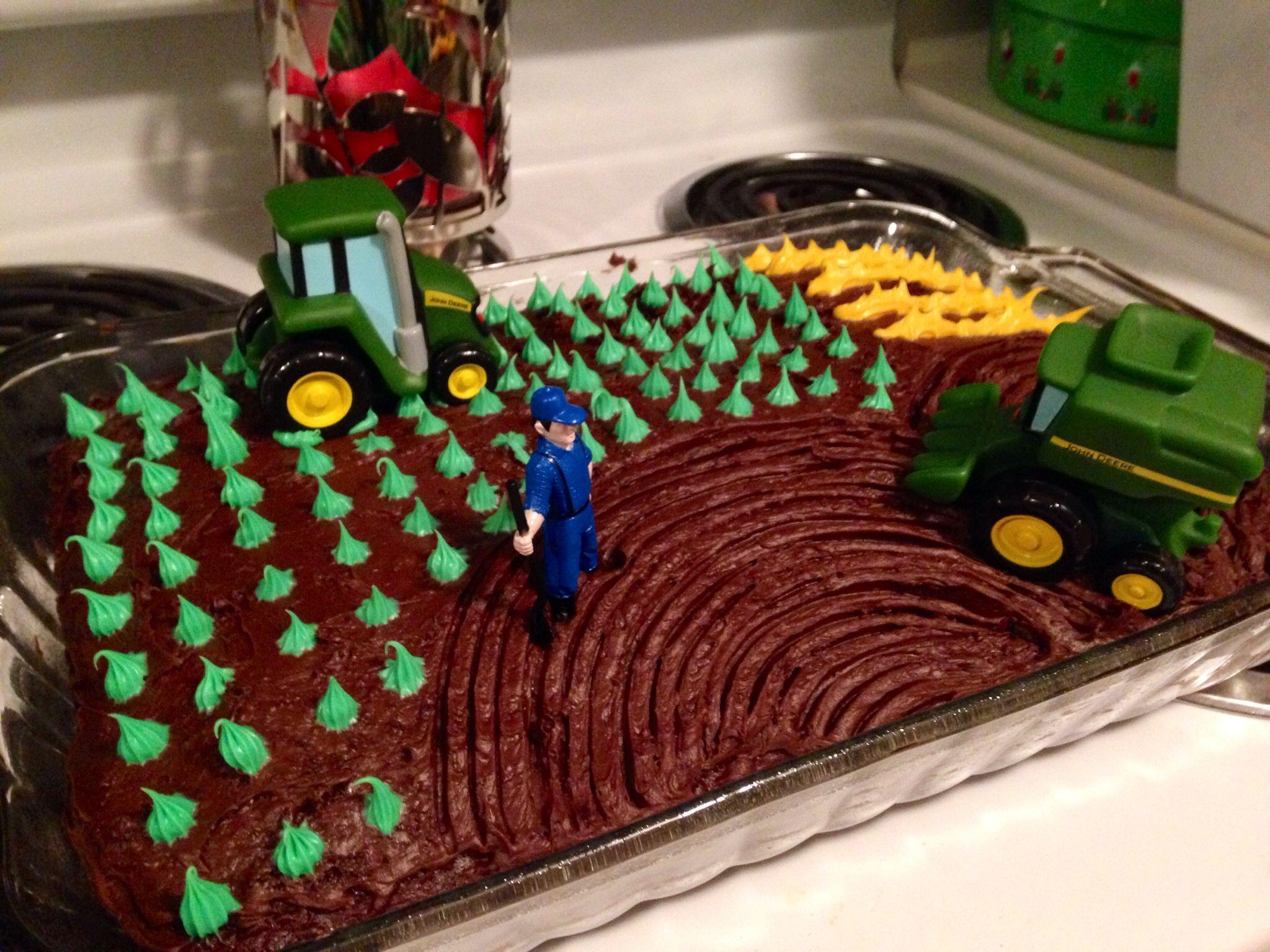 Tractor cake Farm birthday cakes, Man birthday, Birthday