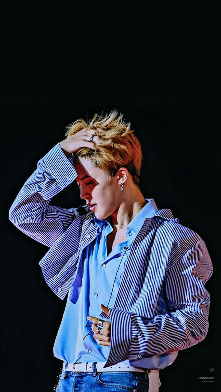 Bts Jimin Park Jimin Blue Blonde Black Lotte Concert Wallpaper Orang Suami Makhluk Fantasi