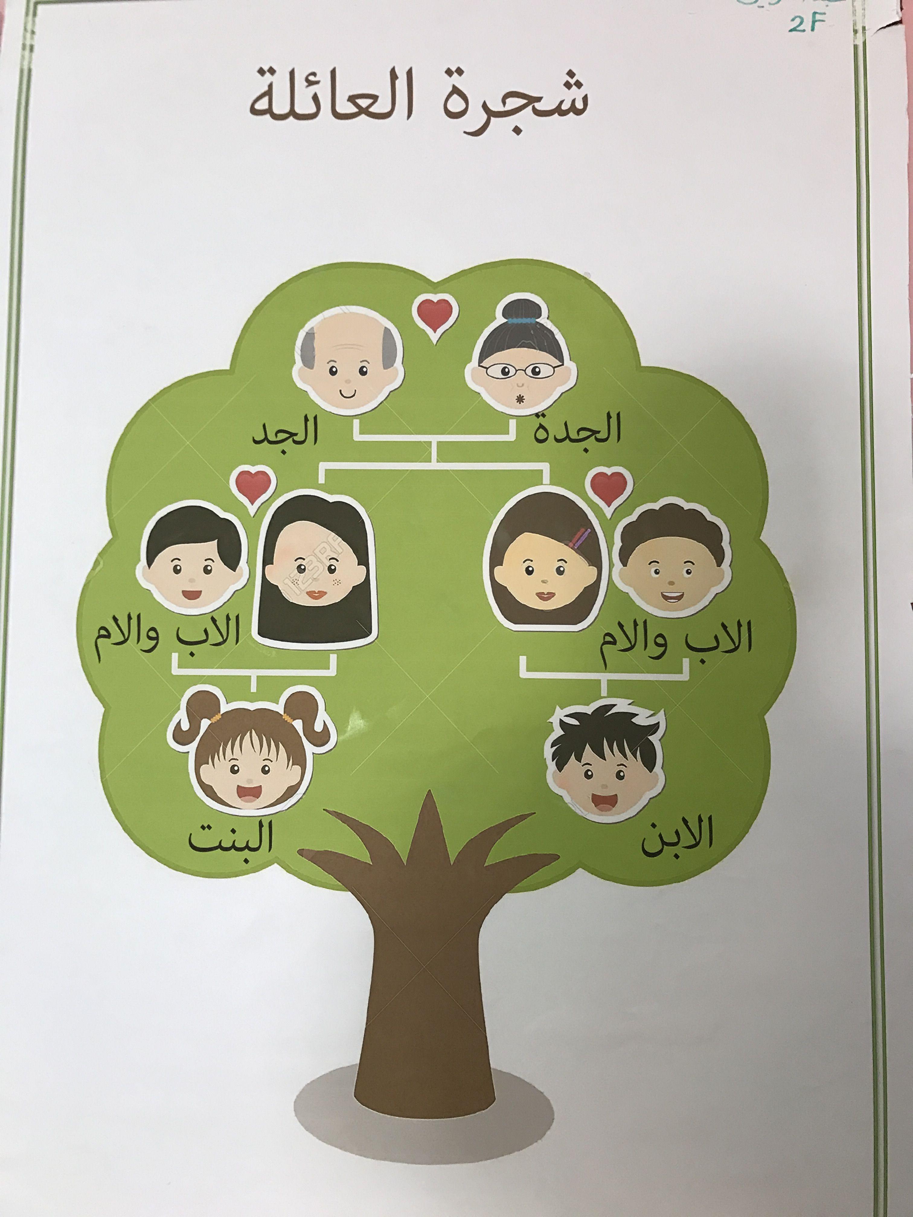 Family Tree شجره العائله School Art Activities Superhero Classroom Theme Preschool Classroom Decor