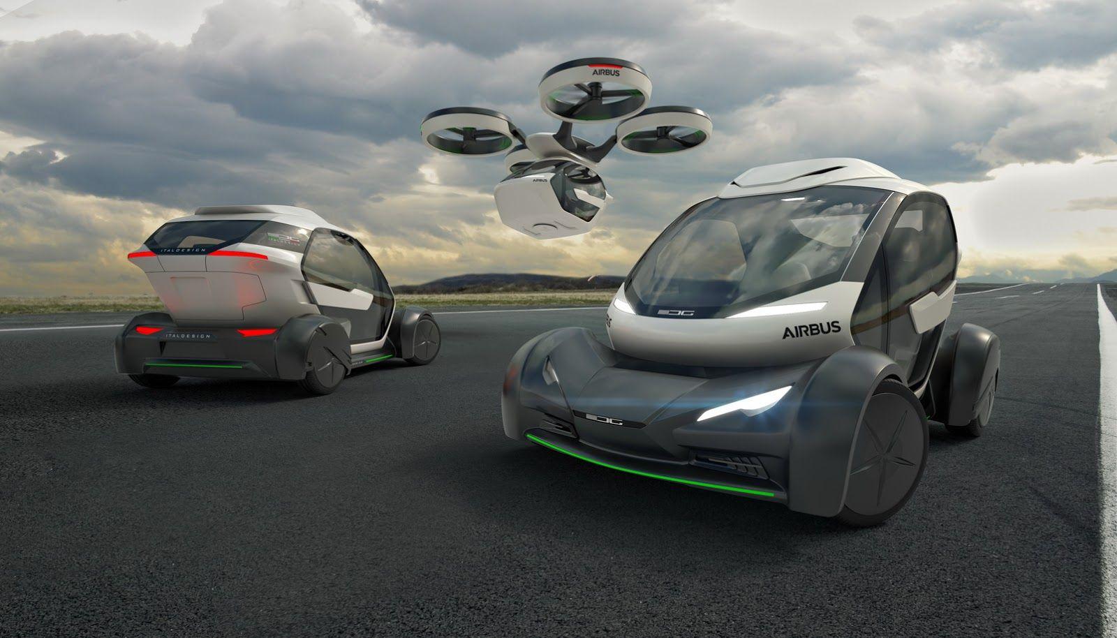 Pop.Up, l'auto modulare che si trasforma in drone