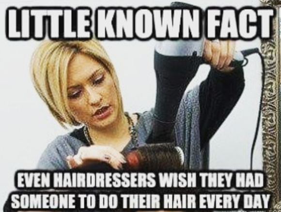 60 Memes That Will Keep Hairdressers Laughing For Hours Hairstylist Quotes Hairstylist Humor Hairdresser Humor