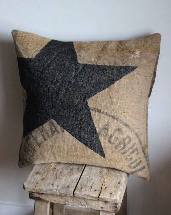 Pin By Gail On Stars Pinterest Pillows Jute And Hessian Gorgeous Burlap Star Decorative Pillow