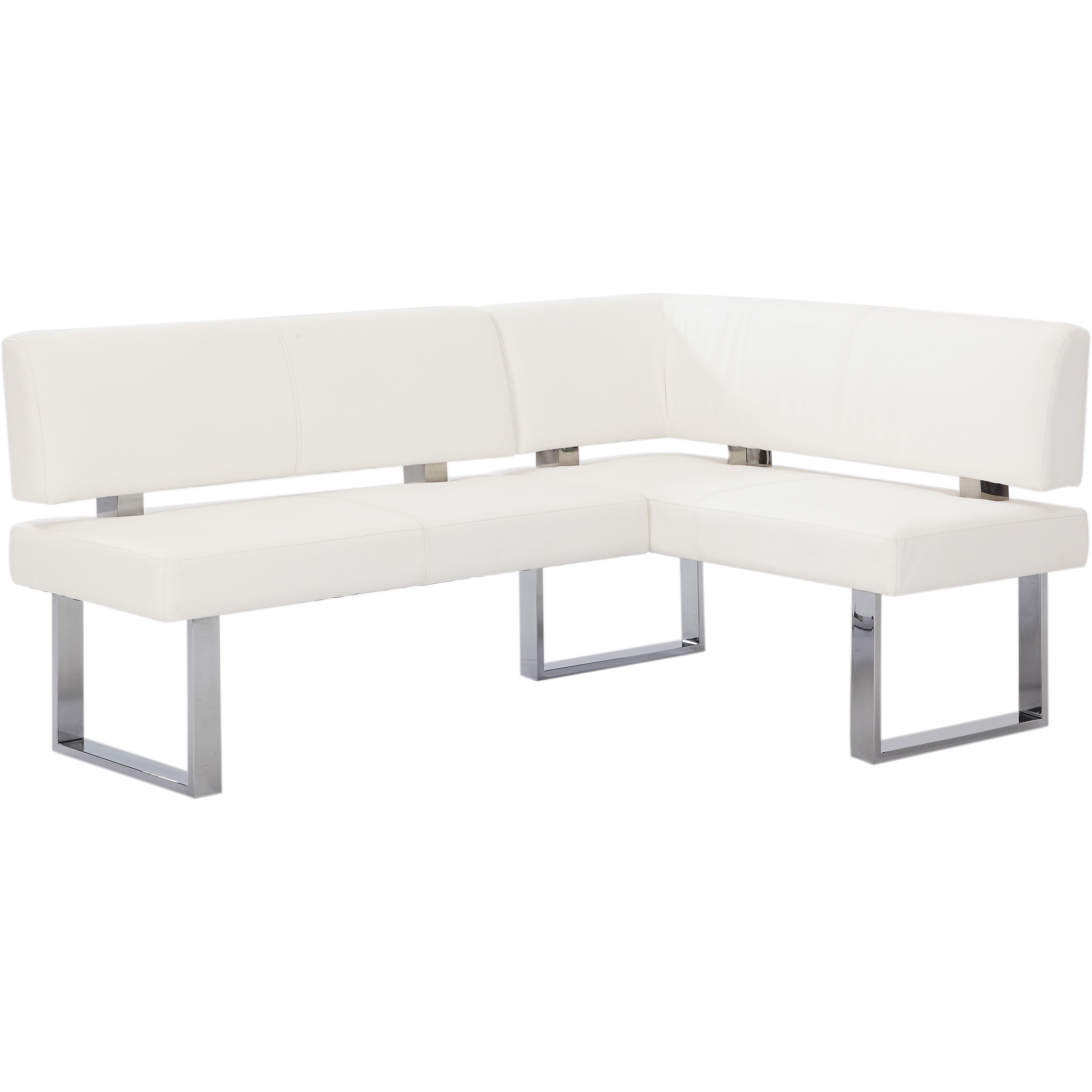 Christopher Knight Home Leah White Nook Corner Dining Bench ...