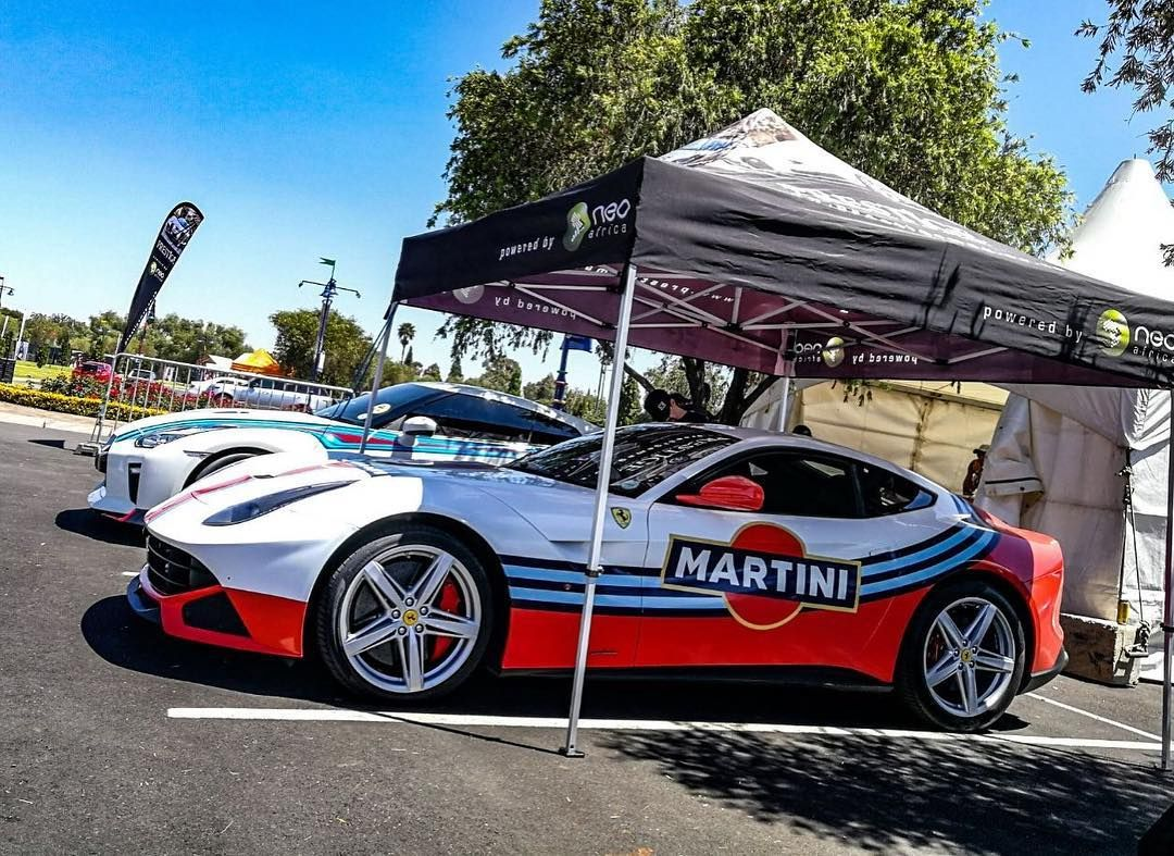 Thoughts On This F12 Given A Fresh New Martini Livery Look Via